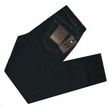 JEANS PANTALONE UOMO DONNA HOLIDAY STRETCH BASICO NERO 46 48 50 52 54 56 58 60 J