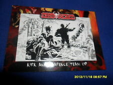 """2012 BREYGENT DEAD WORLD ZOMBIE CARD """" KIRK AND CLARENCE TEAM UP  """" #29"""