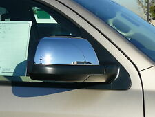 Toyota Tundra Sequoia 2007-11 Chromed Mirror Cover Inserts - TFP - 511