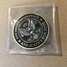 Five Finger Death Punch - And Justice For None - Commemorative Coin