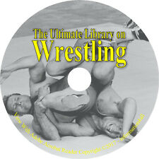 9 Books on CD, Ultimate Library on Wrestling, How to Wrestle, Self Defense