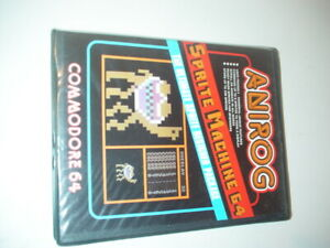 COMMODORE 64 SPRITE MACHINE 64  ANIROG SOFTWARE 1985 NEW IN BOX