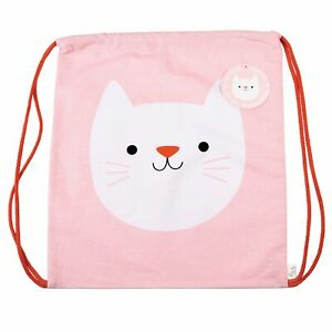 Cookie The Cat Drawstring Bag