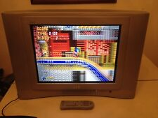 "JVC 20"" CRT TV AV-20f475 With Remote Gaming Components S Video Fast Shipping"