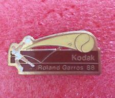 Pins TENNIS ROLAND GARROS 88 Sponsor KODAK
