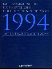 Bund Jahressammlung 1994 der Deutschen Post, ESSt Bonn