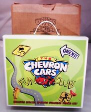 """CHEVRON CARS FUN CLUB INCLUDES SE CAR, 1999 FROM """"THOSE FUNNY COMMERCIALS"""" - NEW"""