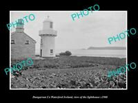 OLD LARGE HISTORIC PHOTO OF DUNGARVAN WATERFORD IRELAND, THE LIGHTHOUSE c1900