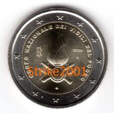 NEW !!! 2 EURO COMMEMORATIVO ITALIA 2020 FDC Vigili del Fuoco !! disponibile !!