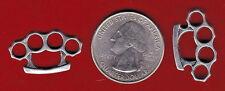 20  SILVER TONE BRASS  KNUCKLE METAL CHARMS. - JUNKMANRALF  U.S. SELLER  - C 34