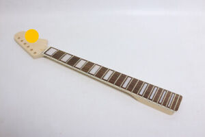 New Maple Guitar neck 22Fret 24inch Short Scale Block Inlay Rosewood Fretboard