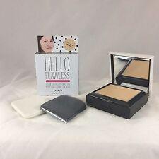 NEW BENEFIT Hello Flawless *PETAL Custom Powder Cover-Up Face w/Sponge&Brush $34