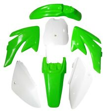 CRF70 GREEN PLASTICS BODY FENDER KIT PIT BIKE 140/150/160/200CC ATOMIK THUMPSTAR