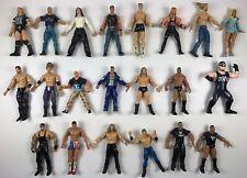 WWE WWF Wrestling Action Figures lot of 21 Steve Austin Undertaker WCW TNA ECW