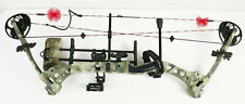 "Bowtech Soldier Compound Bow Right Hand 28"" DW: 40-65 lbs DL Camo with Quiver"