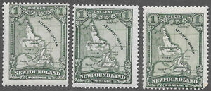 Newfoundland Scott Number 145 SG 164 F NH 3 Copies Cat $7.50