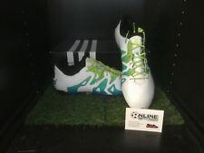Adidas X15.1 FG/AG - White/Semi Solar Slime/Black UK 10, US 10.5, EU 44 (2/3)