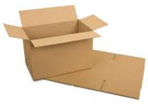 "Cardboard Boxes - 30x23x20 cm 12"" Small Packaging Box Brown 12x9x8 - 1,5,10,50"
