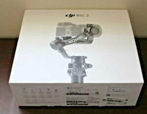DJI RSC 2 - 3-Axis Gimbal Camera Stabilizer OPEN BOX WITH ACCESSORIES PICTURED