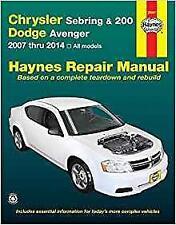 Haynes CHRYSLER SEBRING (07-10) TOURING Owners Service Workshop Manual Handbook