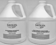 NIOXIN System 1 Cleanser Shampoo & Scalp Therapy Conditioner Duo,1 Gallon 2pc