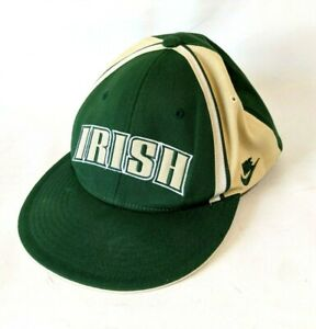 LeBron James NIKE 2003 TAG Collection Hat Notre Dame Irish  DeadStock Tags