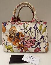 ❗️PRADA CANAPA STAMPATA Bag Tasche Summer Design Tote Bag Flower Borsa 2020