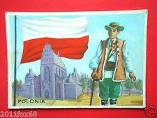 figurines chromos cards figurine sidam gli stati del mondo 20 polonia bandiere d