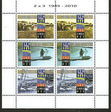 Aruba 2010 60 Year End of Worldwar II Soldiers Ship MNH sheet