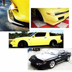 Mitsubishi Starion Dodge Conquest front bumper chin spoiler airdam protector
