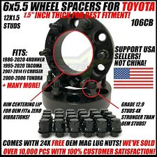 6X5.5 Hub Centric 1.5 Inch Wheel Spacers For Toyota 4Runner Tacoma 38mm 6x139.7