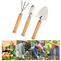 3 Pcs Set Kids Gardening Tools Comes With Small Rake Spade and Trowel Garden