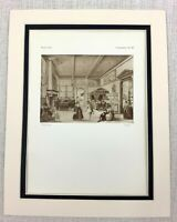 1927 Antico Stampa Olandese Vecchio Master Interno Pittura Abel Grimmer Limitata