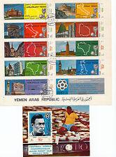 Briefmarken mit Fußball-Motiven als Spezialsammlung