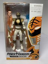 Hasbro Power Rangers Lightning Collection Mighty Morphin White Ranger 6in Action