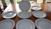 "Vintage Salad Plates in Crestmont Noritake Fine China 1959 1970 EUC 8 8"" Plate"