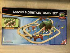 New In Box Maxim Enterprise 100 Piece Mountain Train Set