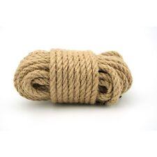 10 Metres Soft Hemp Bondage Rope Non slip Fetish Shibari Tie & Tease Fun