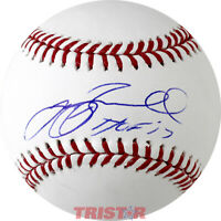 Jeff Bagwell Signed Autographed Official ML Baseball HOF 17 TRISTAR COA