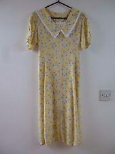 Unbranded true vintage floral  summer/festival/tea/boho dress size S/XS