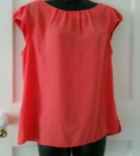 Dorothy Perkins Blouse/Top Size 14 With Pleated Neckline