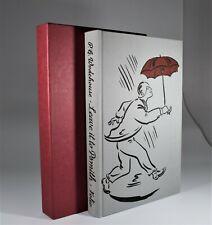 Folio Society. P.G Wodehouse. Leave it to Psmith (1989) Illustrated w/slipcase.