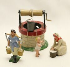 MADE IN ENGLAND AND FRANCE TOYS:  2 WOMEN/ TODDLER & WELL