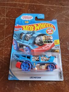 2020 Hot Wheels Factory Sealed Set Loco Motorin Blue Color