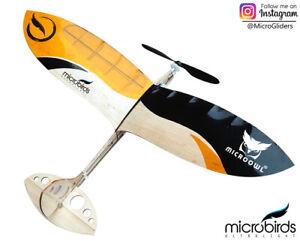 RC Airplane Micro Owl UltraLight Ultra Small Radio Control Kit Air Plane Balsa