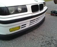 WIDE GTR DIY lip for BMW E36 SE front bumper spoiler chin valance trim splitter