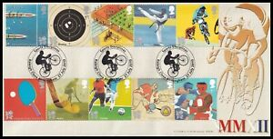 2010 GB Olympic & Paralympic Games Bradbury BFDC86 FDC Raleigh Close SHS