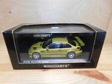 Minichamps 1:43 Modellauto BMW M3 GTR street 2001 gelb gold OVP