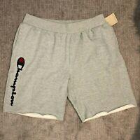 Champion Men's Champion Logo Reverse Weave Gray Shorts NWT Size 3X-Large