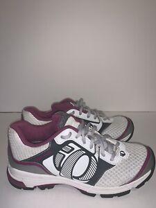 PEARL IZUMI W X Road Fuel II Womens Cycling Shoes US 8.5 39 White/Silver